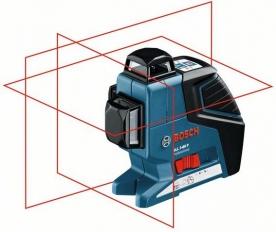 Bosch GLL 3-80 P multifunkcionális vonallézer, állványos (0 601 063 306)