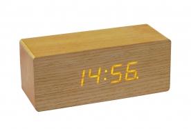 Home fa ébresztőóra, LED kijelzővel OC 01