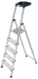 Krause Monto Secury lépcsőfokos állólétra 5 fokos  (126535)