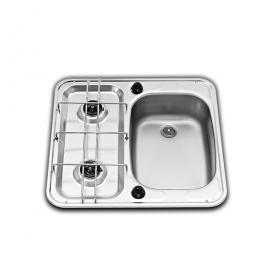 Dometic beépíthető gázfőzőlap + mosogató MO927R, PB-gáz üzemű