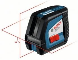 Bosch GLL 2-50 keresztvonalas szintezőlézer, állványos (0 601 063 105)