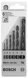 Bosch HSS-R fémfúró készlet 6 részes (2607018352)