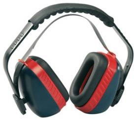 Earline MAX 700 kék-piros fültok, szabályozható (31070)