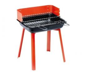 Grill Chef Portago hordozható faszenes grill piros (11526)