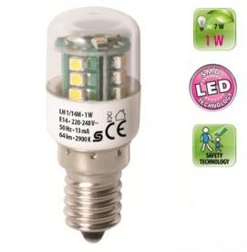 LH 1/14M Home LED fényforrás, henger 2900 K, 64 lm