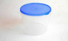 Mércés, műanyag ételdoboz hengeres 1,5 L