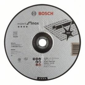 Bosch Darabolótárcsa hajlított - Expert for Inox, AS 46 T INOX BF, 230 mm (2608600711)