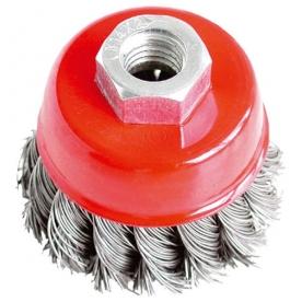 Extol Craft drótcsiszoló fazékkefe sarokcsiszolóhoz 65 mm (17007)