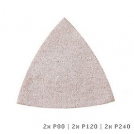 Dremel Multi-Max Csiszolópapír festékhez (80-as, 120-as és 240-es szemcseméret) (MM70P) (2615M70PJA)