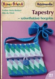 Tapestry - szövethatású horgolás