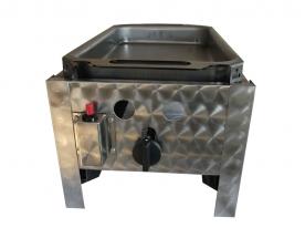BGT-1 egyégős asztali pecsenyesütő készülék, földgáz üzemű
