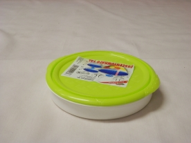 Összenyomható tál, műanyag 0,9 liter almazöld