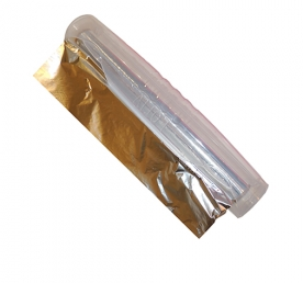 Alufóliatépő hengeres, műanyag víztiszta