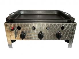 BGT-3 háromégős asztali pecsenyesütő készülék, földgáz üzemű