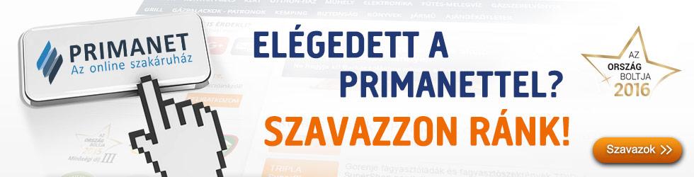 PrimaNet - ország boltja szavazás